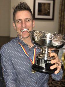 Ollie picks up trophy